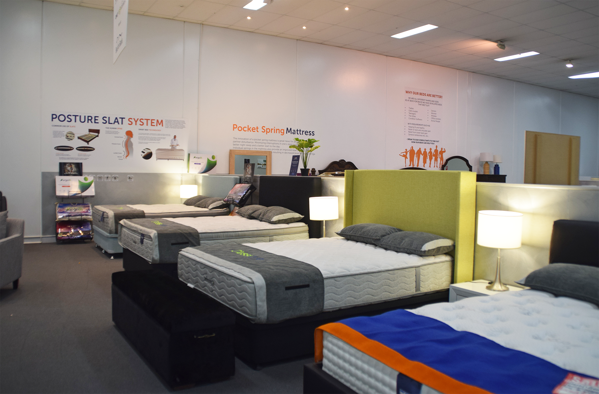 Dandenong The Ergonomic Sleep Specialists Beds For Backs